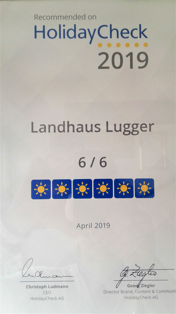 Holiday Check landhaus lugger